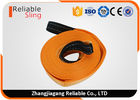 80mm Width Polyester 9T Heavy Duty Tow Straps Towing Rope with Reinforced Loops for All Vehicle