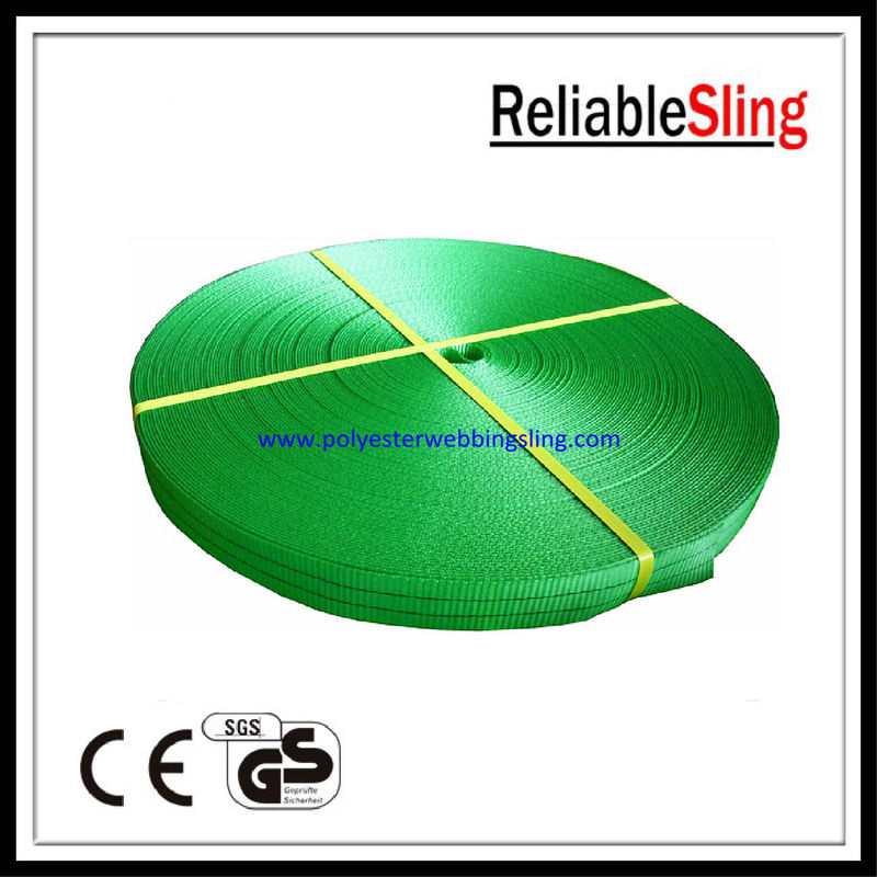 CE , GS Approved 100% Polyester Webbing 2 ton durable sling web