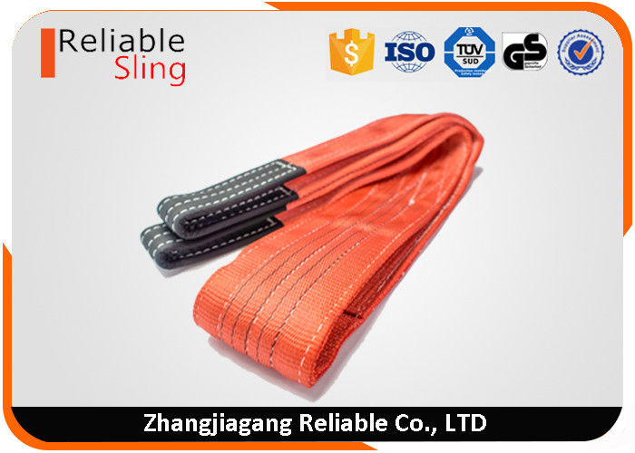 High Temperature Resistant Flat Webbing Sling Polyester Glass Lifting Slings